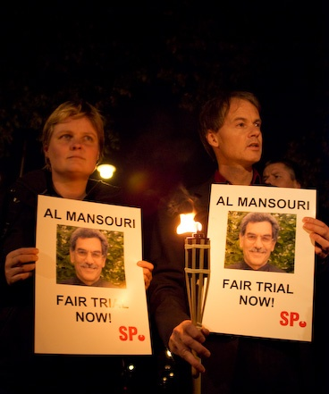Vigil for Al Mansouri