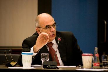 Jan Pronk - former Labour defence minister