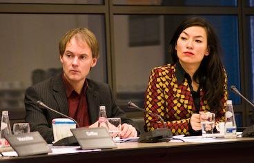 Harry van Bommel en Maaiko Peters