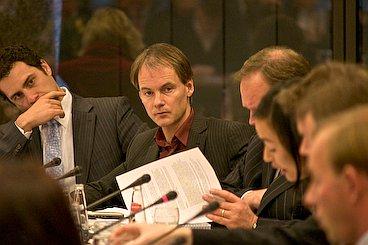 Van Bomnmel during the debate