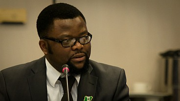 Sunny Ofehe of the Hope for Niger Delta Campaign