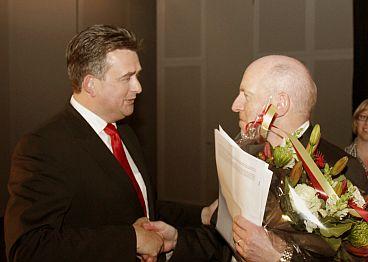 Emile Roemer en Steingrímur Sigfusson