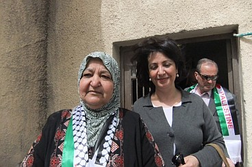 Khadija Arib, a Labour MP from the Netherlands, with a mother who has four sons in prison