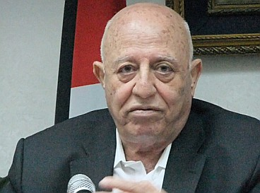 Ex-Premier of Palestine Ahmed Qurei