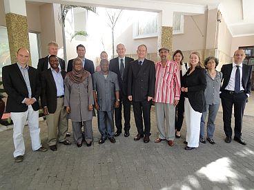 De Nederlandse parlementaire afvaardiging in Ethiopie