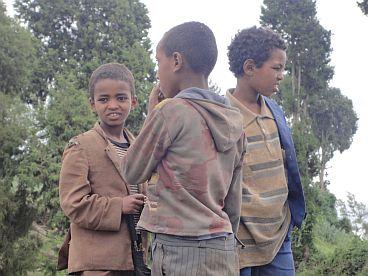 Ethiopische schoolkinderen