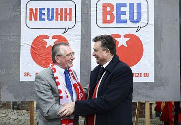 Dennis de Jong en Emile Roemer