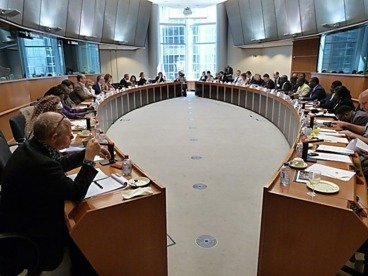 The meeting at the European Parliament