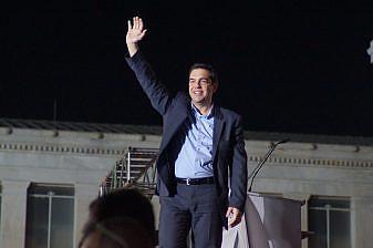 Syriza leader Alexis Tsipras